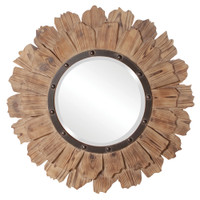 Hawthorne Round Framed Wall Mirror