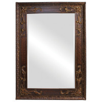 Lila Rectangular Framed Wall Mirror