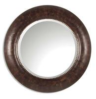 Leonzio Leather Mirror
