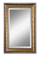 Sinatra Large Bronze Mirror