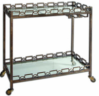Nicoline Iron Serving Cart