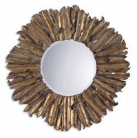Hemani Antique Gold Mirror