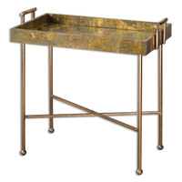 Couper Oxidized Tray Table