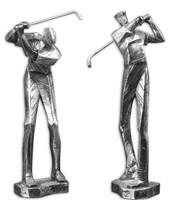 Practice Shot Metallic Statues, Set/2