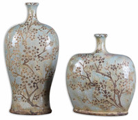 Citrita Decorative Ceramic Vases Set/2