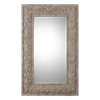 Vazzano Oversized Driftwood Mirror
