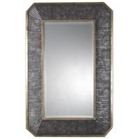 Isaiah Ribbed Bronze Mirror