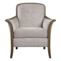 Brittoney Taupe Armchair