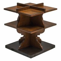 Niko Honey Accent Table