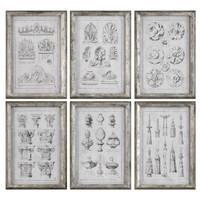 Architectural Accents Prints S/6