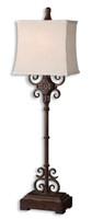 Cubero Brown Buffet Lamp