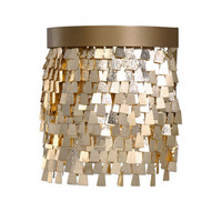 Tillie 1 Light Gold Sconce