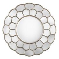 Dahlia Silver Mirror