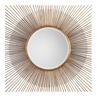 Azie Square Starburst Mirror