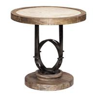 Sydney Light Oak Accent Table