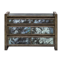 Darcell Gray Wash Accent Chest