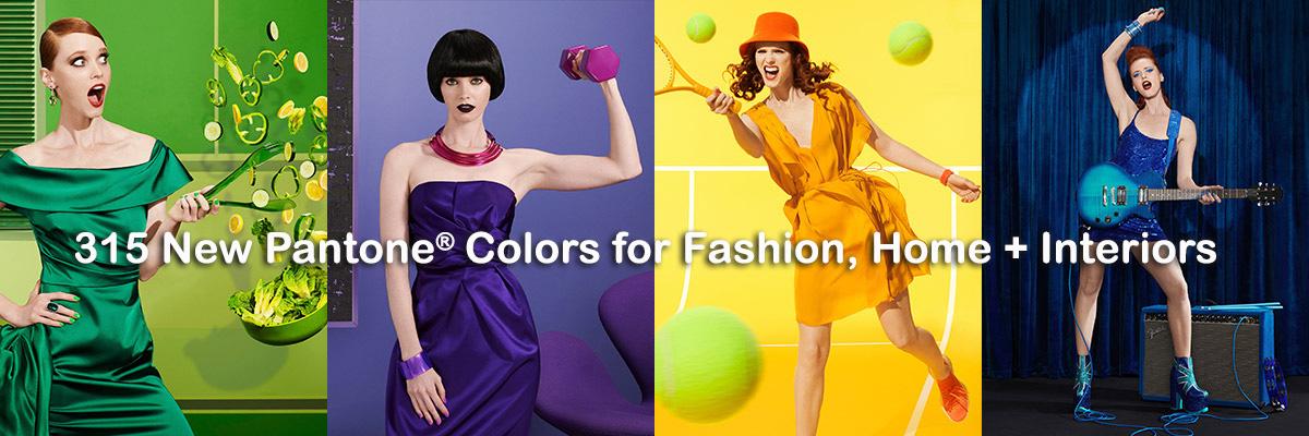 315 New Pantone Colors