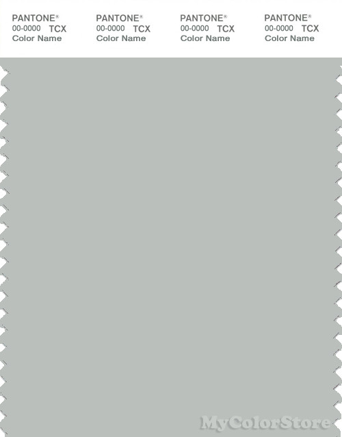 PANTONE SMART 14-4503X Color Swatch Card, Metal