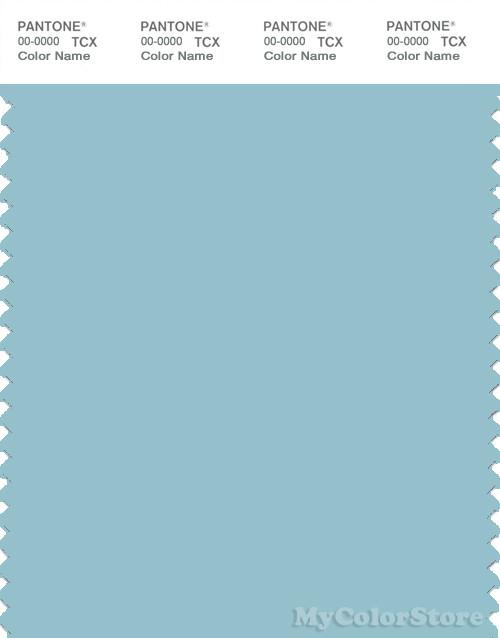 PANTONE SMART 14-4512X Color Swatch Card, Porcelain Blue
