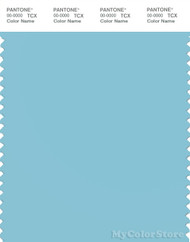 PANTONE SMART 14-4516X Color Swatch Card, Moderate Blue
