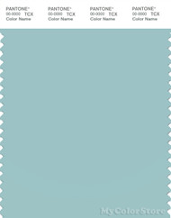 PANTONE SMART 14-4810X Color Swatch Card, Canal Blue