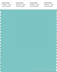 PANTONE SMART 14-4811X Color Swatch Card, Aqua Sky