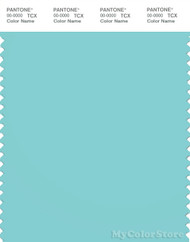 PANTONE SMART 14-4812X Color Swatch Card, Aqua Splash