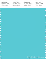 PANTONE SMART 14-4816X Color Swatch Card, Blue Radiance