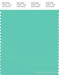 PANTONE SMART 14-5416X Color Swatch Card, Bermuda