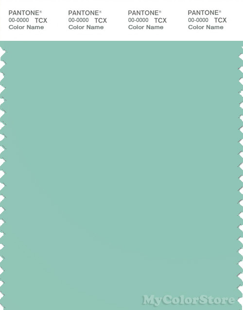 PANTONE SMART 14-5711X Color Swatch Card, Ocean Wave