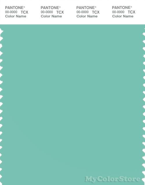 PANTONE SMART 14-5713X Color Swatch Card, Cascade