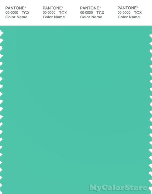 PANTONE SMART 14-5721X Color Swatch Card, Electric