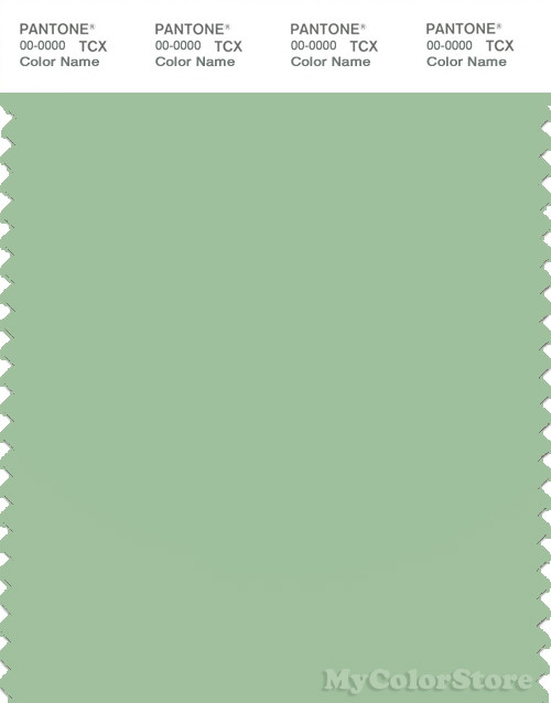 PANTONE SMART 14-6316X Color Swatch Card, Spruce