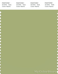PANTONE SMART 15-0326X Color Swatch Card, Tarragon