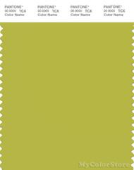 PANTONE SMART 15-0543X Color Swatch Card, Apple Green