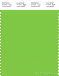 PANTONE SMART 15-0545X Color Swatch Card, Jasmine Green
