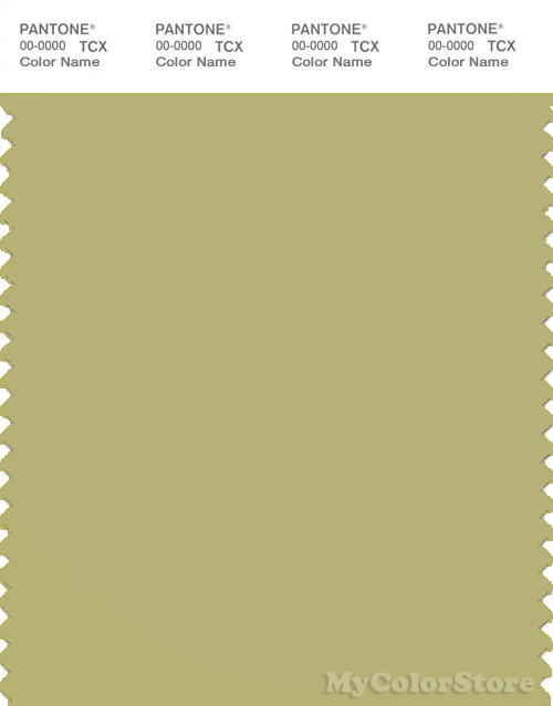 PANTONE SMART 15-0628X Color Swatch Card, Leek Green