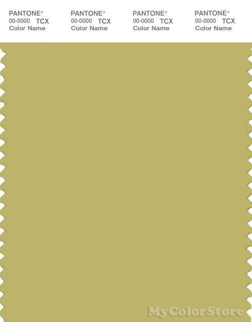 PANTONE SMART 15-0636X Color Swatch Card, Golden Green