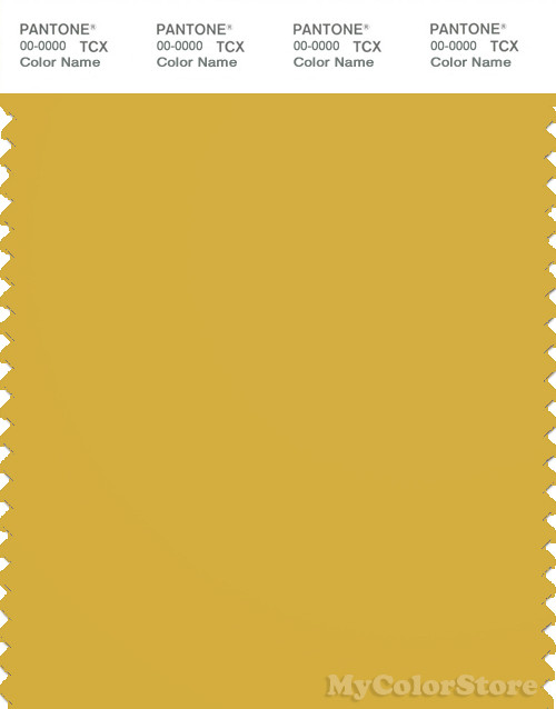 PANTONE SMART 15-0850X Color Swatch Card, Ceylon Yellow