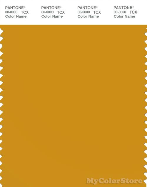 PANTONE SMART 15-0953X Color Swatch Card, Golden Yellow