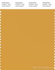 PANTONE SMART 15-1046X Color Swatch Card, Mineral Yellow