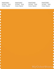 PANTONE SMART 15-1054X Color Swatch Card, Cadmium Yellow