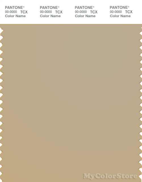 PANTONE SMART 15-1116X Color Swatch Card, Sarari