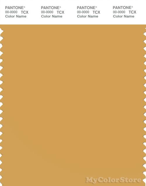 PANTONE SMART 15-1142X Color Swatch Card, Honey Gold