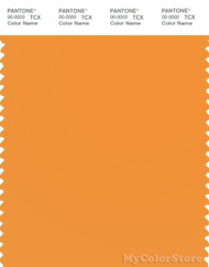 PANTONE SMART 15-1153X Color Swatch Card, Apricot
