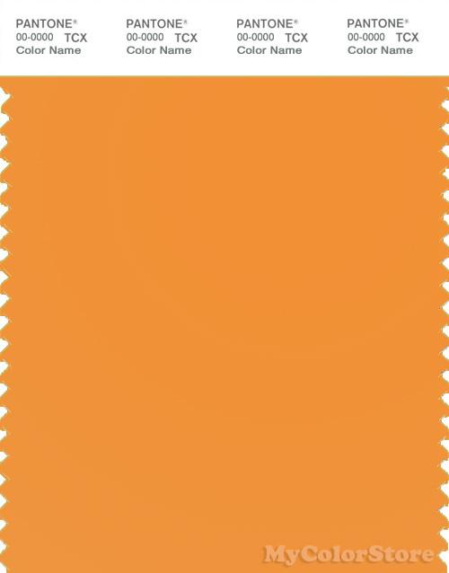 PANTONE SMART 15-1153X Color Swatch Card, Apricot