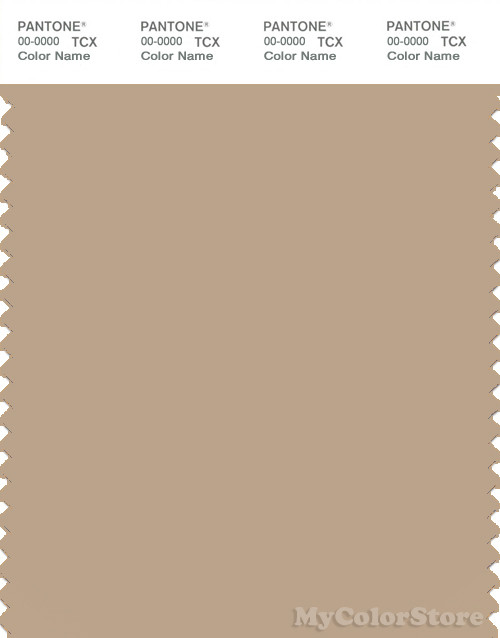 PANTONE SMART 15-1215X Color Swatch Card, Sesame