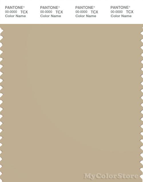 PANTONE SMART 15-1216X Color Swatch Card, Pale Khaki