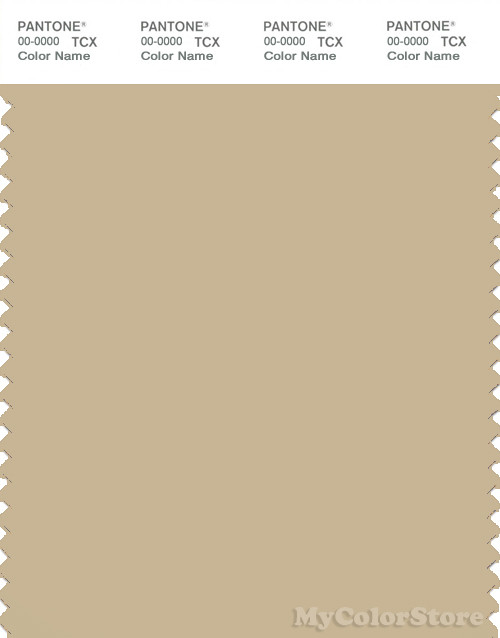 PANTONE SMART 15-1217X Color Swatch Card, Mojave Desert