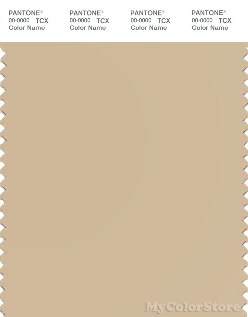 PANTONE SMART 15-1218X Color Swatch Card, Semolina